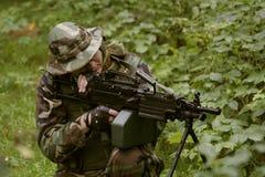 Staat-Maschinengewehr Lizenzfreies Stockbild