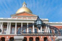 Staat Massachusetts-Haus stockbilder