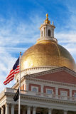 Staat Massachusetts-Kapitol Lizenzfreie Stockbilder