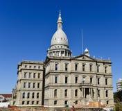 Staat Michigan-Kapitol-Gebäude Lizenzfreies Stockbild