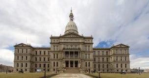 Staat Michigan-Kapitol-Gebäude in Lansing stockbild