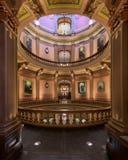 Staat Michigan-Kapitol Rundbau stockbilder