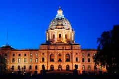 Staat Minnesota-Kapitol stockbild