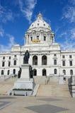Staat Minnesota-Kapitol-Str. Paul Mangan Lizenzfreies Stockbild