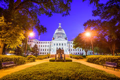 Staat Mississippi-Kapitol stockfotos