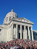 Staat Missouri-Kapitol Buildin stockfoto