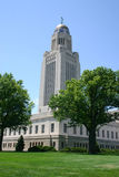 Staat Nebraska-Kapitol Stockbild