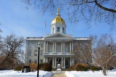 Staat New Hampshire-Haus, Übereinstimmung, NH, USA Lizenzfreie Stockfotos