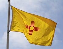 Staat New Mexiko-Markierungsfahne Stockbild