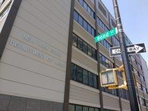 Staat New York-Arbeitsministerium, Bondstraße, Brooklyn, USA Lizenzfreies Stockfoto