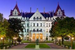 Staat New York-Kapitol lizenzfreie stockfotos