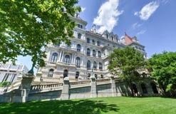 Staat New York-Kapitol-Gebäude, Albanien Stockbild