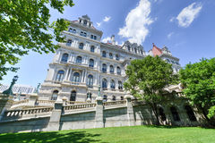 Staat New York-Kapitol-Gebäude, Albanien Lizenzfreie Stockbilder