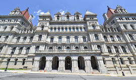 Staat New York-Kapitol-Gebäude, Albanien Lizenzfreies Stockbild