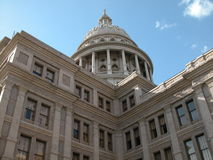 Staat Texas-Kapitol Stockfoto