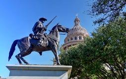 Staat Texas-Kapitol-Gebäude Stockbild