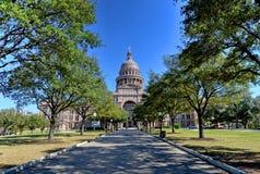 Staat Texas-Kapitol-Gebäude Lizenzfreie Stockfotografie