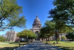 Staat Texas-Kapitol-Gebäude Stockfotos