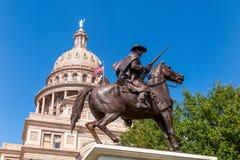 Staat Texas-Kapitol-Gebäude in Austin stockfoto