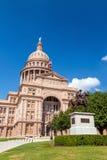 Staat Texas-Kapitol-Gebäude in Austin Stockfotos
