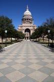 Staat Texas-Kapitol-Gebäude-Eingang Lizenzfreie Stockbilder