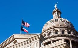 Staat Texas-Kapitol-Haube Stockfotografie