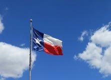 Staat Texas-Markierungsfahne Lizenzfreie Stockfotografie