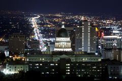 Staat Utah-Kapitol Lizenzfreies Stockbild