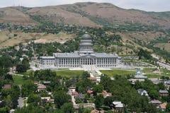 Staat Utah-Kapitol-Gebäude Stockfotografie