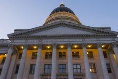 Staat Utah-Kapitol-Gebäude lizenzfreie stockfotos