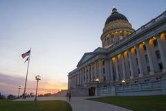 Staat Utah-Kapitol-Gebäude lizenzfreie stockfotografie