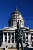 Staat Utah-Kapitolgebäude Stockfotos