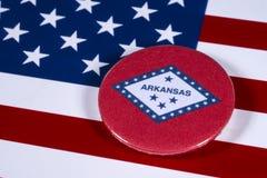 Staat van Arkansas in de V.S. Royalty-vrije Stock Foto