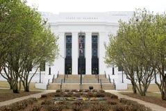 Staat van de Bouw van Alabama Stock Foto