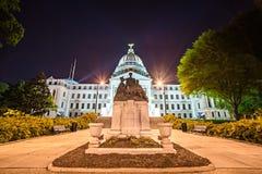 Staat van de capitolbouw van de staat van de Mississippi in Jackson de stad in royalty-vrije stock afbeelding