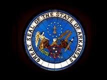 Staat van de Verbinding van Arkansas stock fotografie