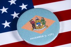 Staat van Delaware in de V.S. stock fotografie