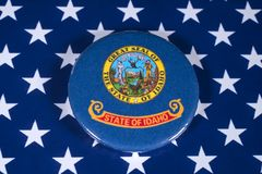 Staat van Idaho in de V.S. royalty-vrije stock foto's