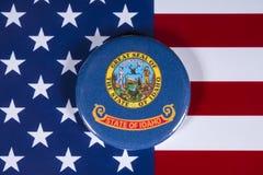 Staat van Idaho in de V.S. stock foto's