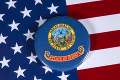 Staat van Idaho in de V.S. Stock Fotografie