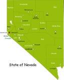 Staat van Nevada vector illustratie