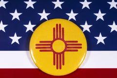 Staat van New Mexico in de V.S. stock foto
