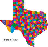 Staat van Texas Stock Afbeelding