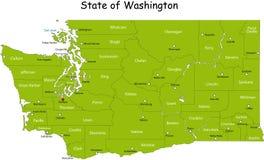 Staat van Washington vector illustratie