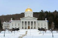 Staat Vermont-Haus, Montpelier Lizenzfreies Stockfoto