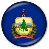 Staat Vermont-Markierungsfahnen-Taste Stockfotos