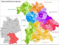 Staat von Deutschland - Bayern vektor abbildung