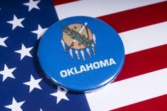 Staat von Oklahoma in den USA lizenzfreie stockfotografie