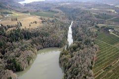 Staat Washington-landwirtschaftliche Szene Stockbild