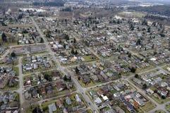 Staat Washington-Stadt Stockfotografie